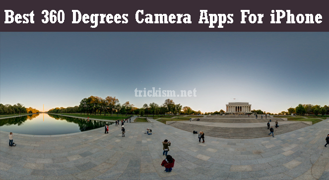 best 360 degrees camera apps for iphone