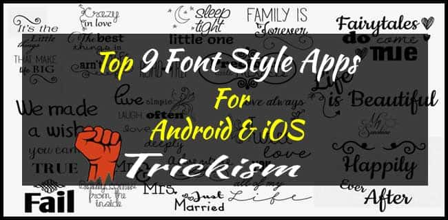 Best Font Style Apps