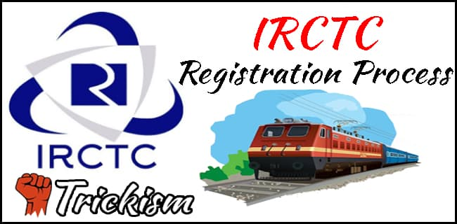 IRCTC Registration Process