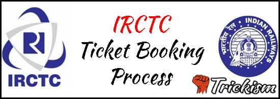 IRCTC Ticket Booking Process