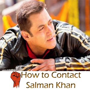how-to-contact-salman-khan
