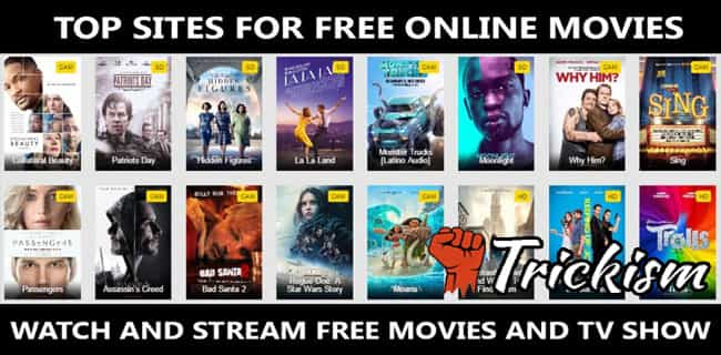 Best Sites to Watch Free Movies Online Without Downloading