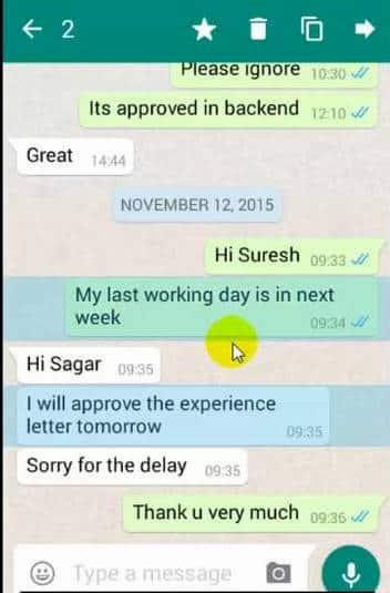 Delete Whatsapp server database