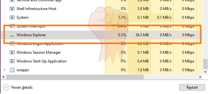 Solve Taskbar In windows hiding