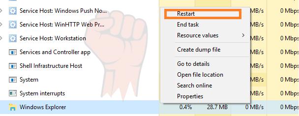 auto hide taskbar not working windows 7