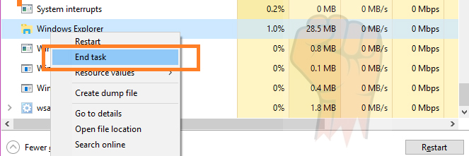 taskbar not going away in fullscreen