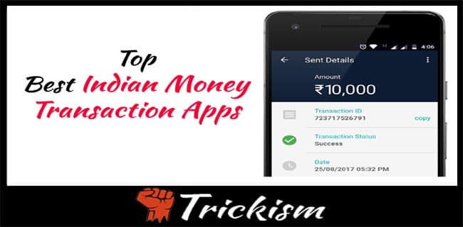Best money Transfer App in india