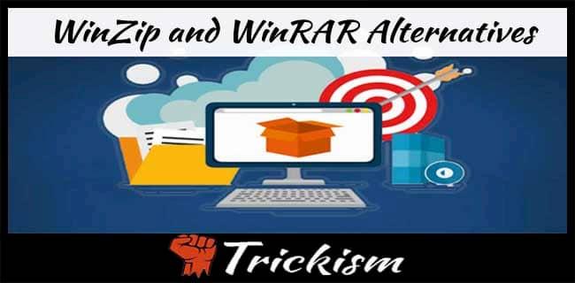 Winzip Winrar alternatives