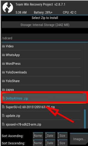 download dolby atmos apk