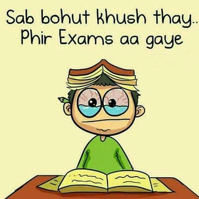 exams tension