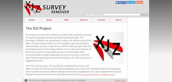 survey remover online