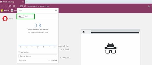 Fix Opera vpn not working