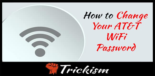 Change your AT&T WiFi Password