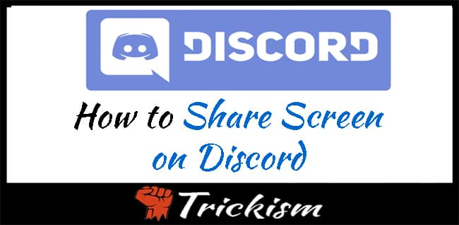How to Share Screen on Discord