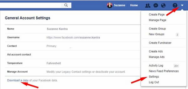 how to delete facebook account permanently