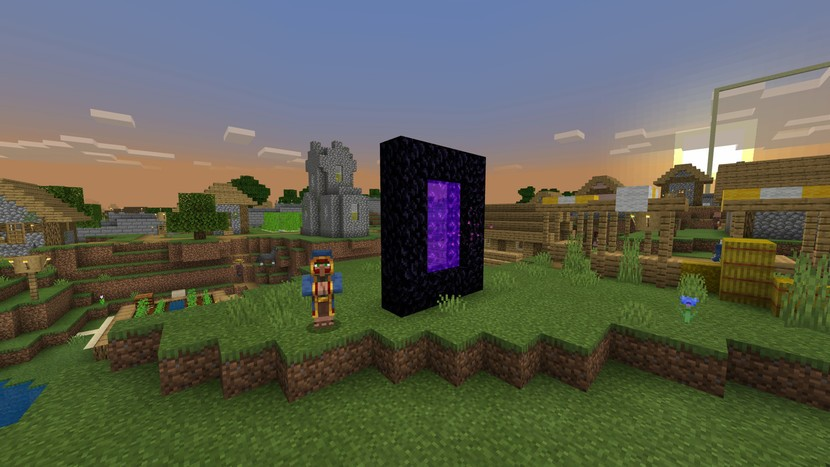 Minecraft Tips: How to Quickly Build a Nether Portal