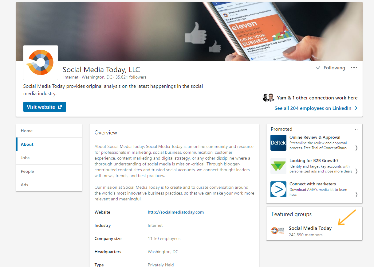 Elements That All Top LinkedIn Pages Feature