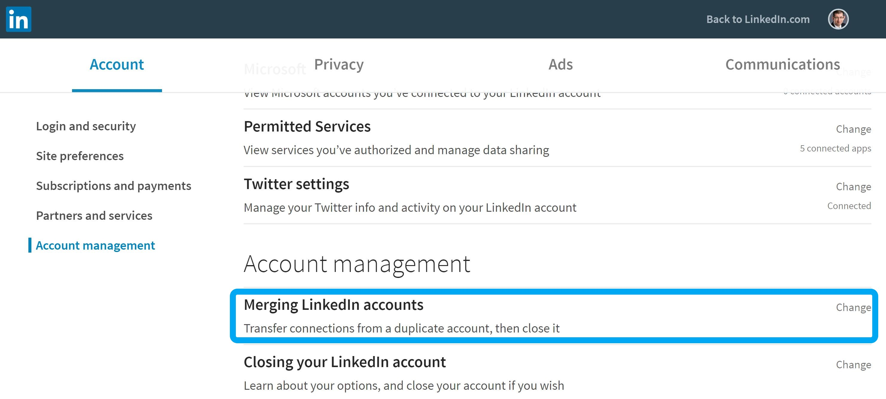 Learn How to Merge LinkedIn Pages