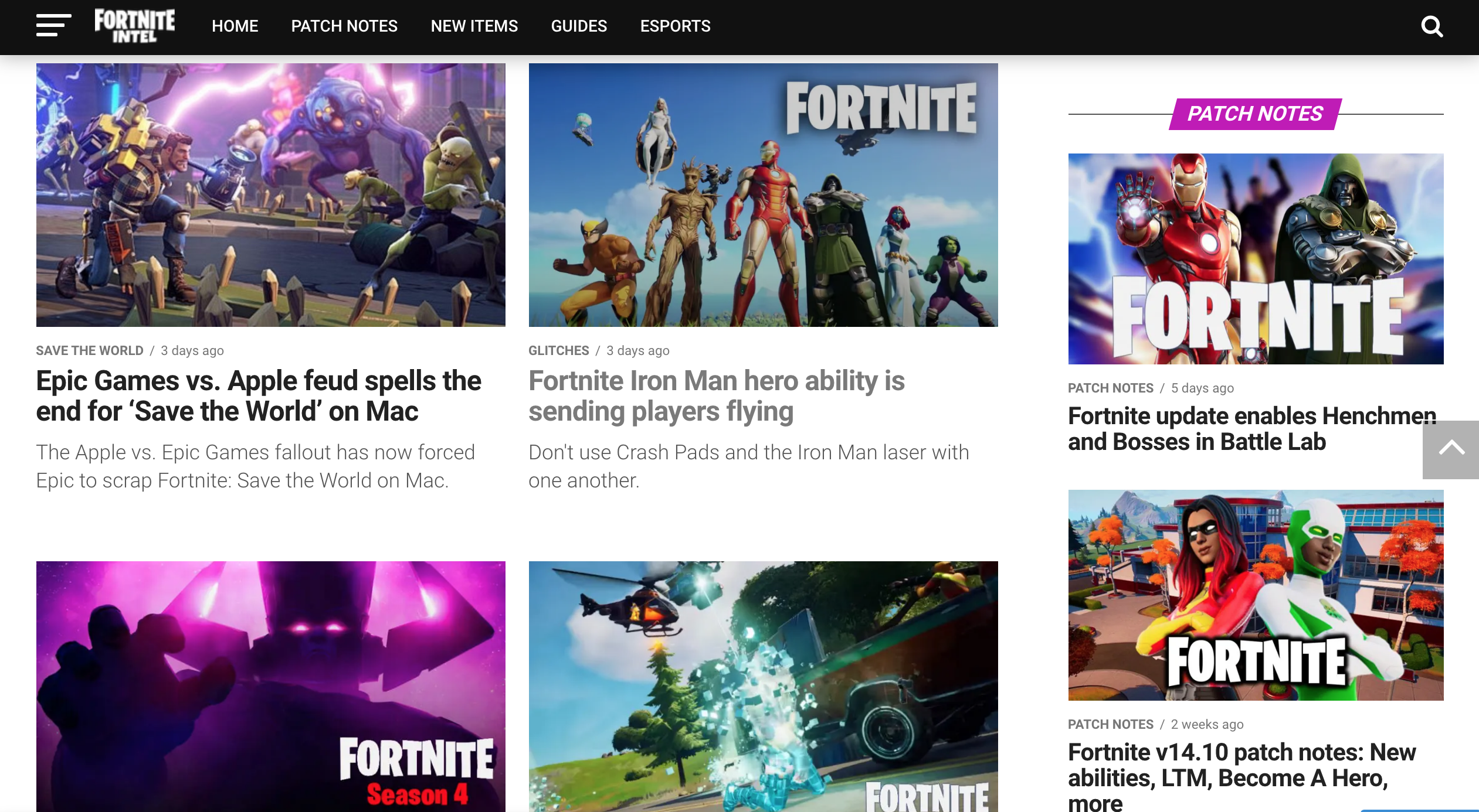 Become a Fortnite Master With Fortnite Intel