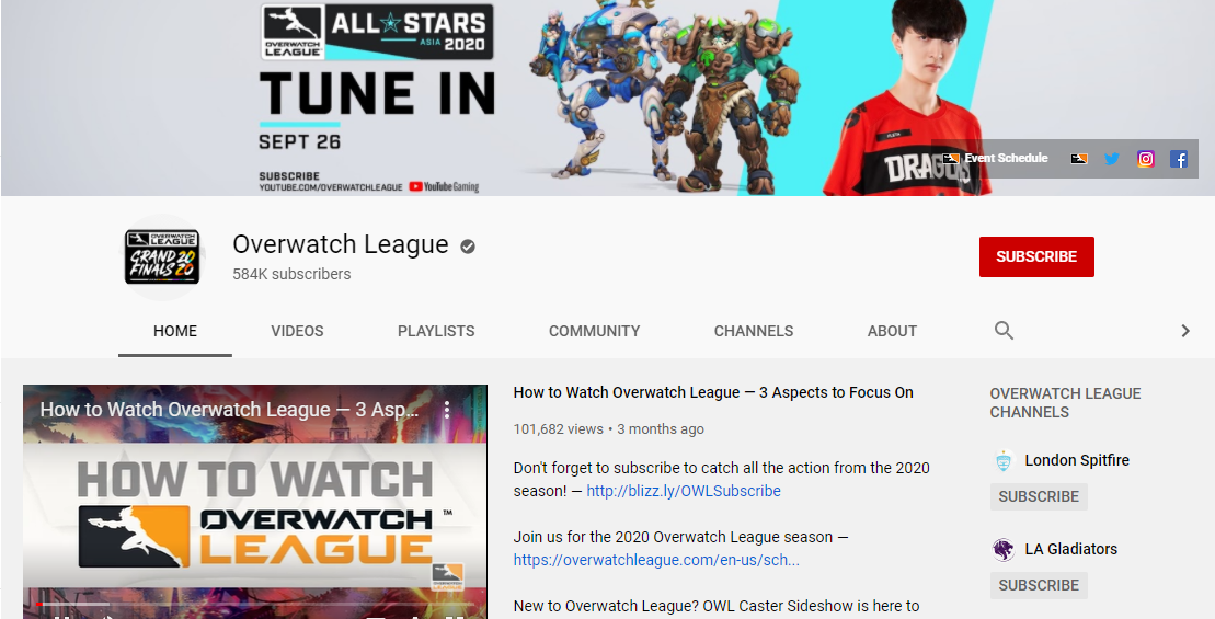 How to Watch Overwatch League Matches