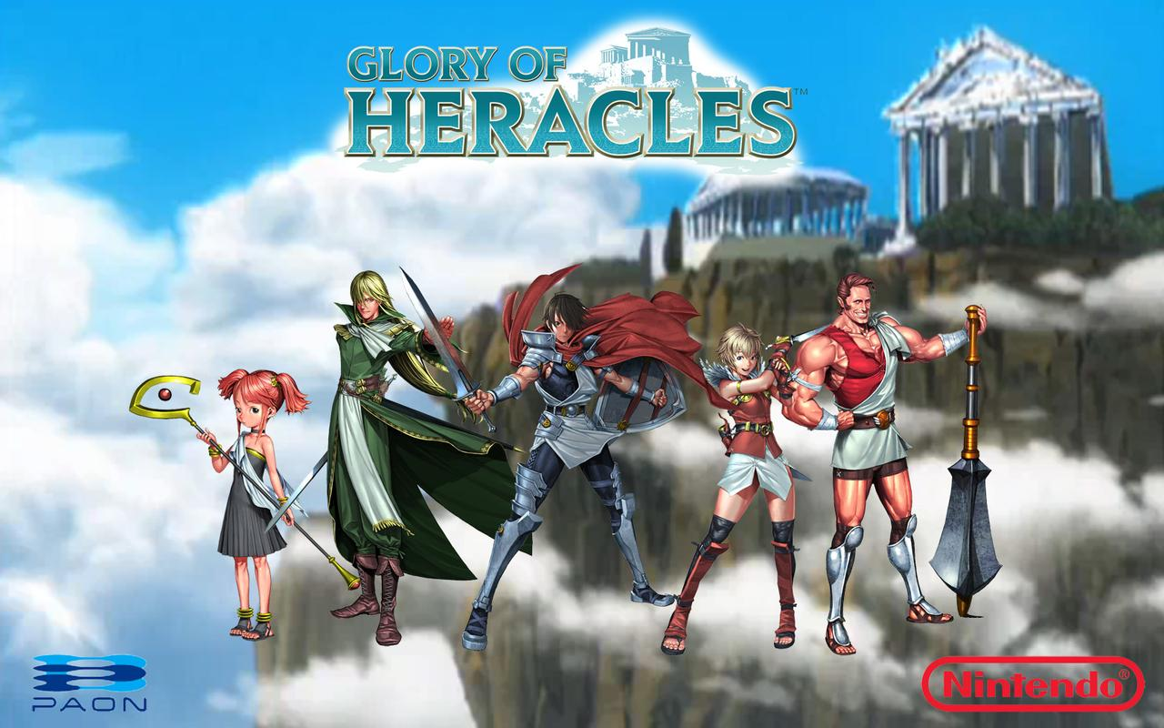 How to Play Glory of Heracles on Nintendo DS