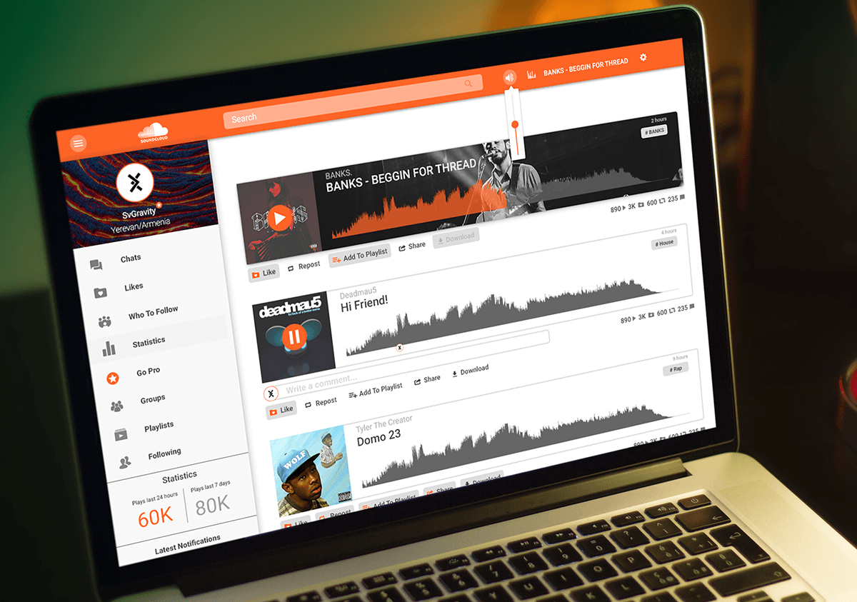 How to Navigate the Soundcloud Website